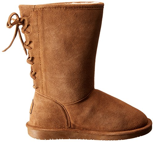 Bearpaw Dames Phyllis Suede, Schapenvacht Snowboots Hickory