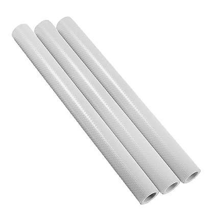 Dulcii 3 Rolls DIY Non Slip Anti Mildew EVA Shelf Liner Kitchen Cabinet  Drawer