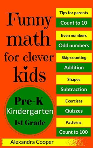 Funny Math for Clever Kids: Math Exercises for Pre-K, Kindergarten ...