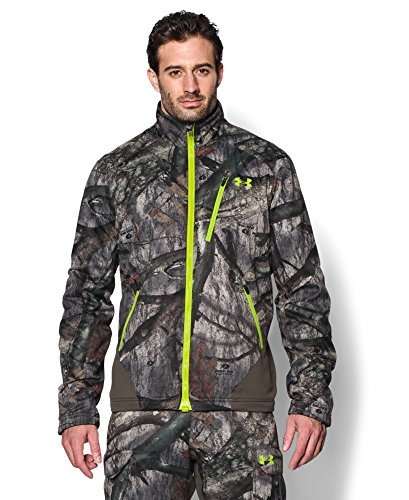 Under Armour Men's UA Storm Scent Control Barrier Jacket Large Mossy Oak Treestand