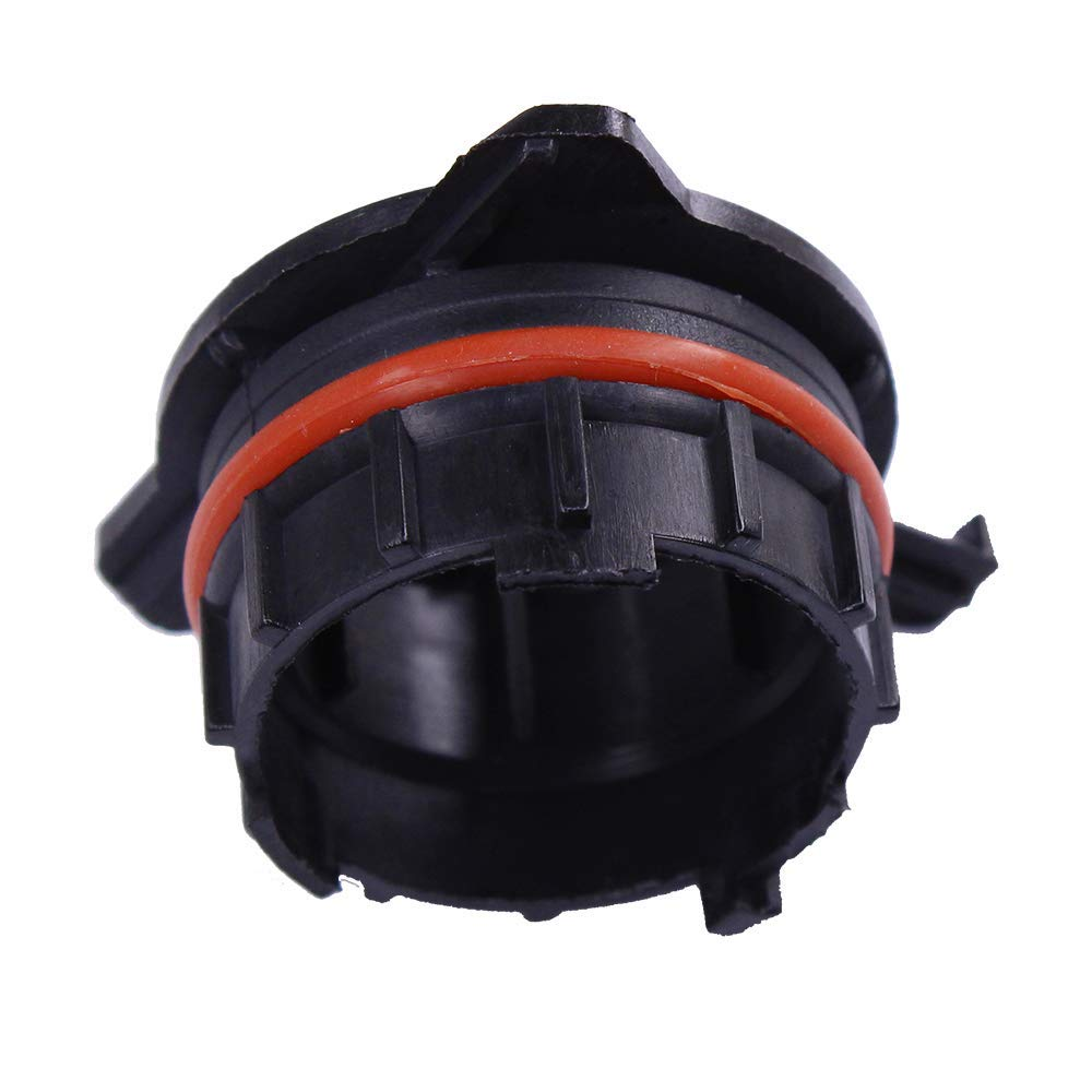 HUIQIAODS 2Pcs H7 LED Headlight Bulb Base Adapter Holder Retainer for Mercedes SLK series H7 ADAPTER SOCKET h7 holder adapter