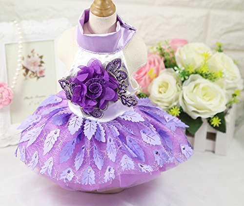 BBEART-Pet-Clothes-Small-Dogs-Sweet-Princess-Skirt-Girl-Tutu-Clothing-Puppy-Cat-Sleeveless-Apparel-Pussy-Teddy-Clothes-Harness-Wedding-Dresses-for-Spring-and-Summer