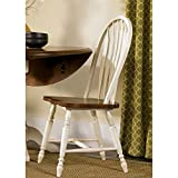 Liberty Furniture Low Country Windsor Back Dining Side Chair in Linen