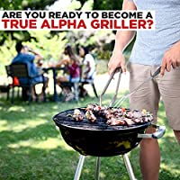 Alpha Grillers - Juego de herramientas para barbacoa de alta ...