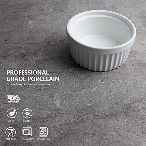 Buy white glass custard