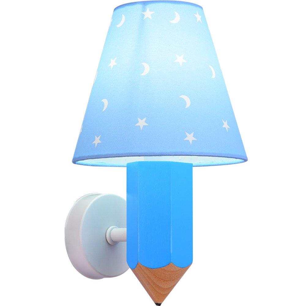 T-ZBDZ Wandlampe Junge Mädchen Schlafzimmer Gang Nachttischlampe, 16  27 cm