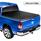 "Lund Genesis Elite Tri-Fold Soft Folding Truck Bed Tonneau Cover | 95850 | Fits 2017 - 2019 Ford Super Duty 6' 9"" Bed"