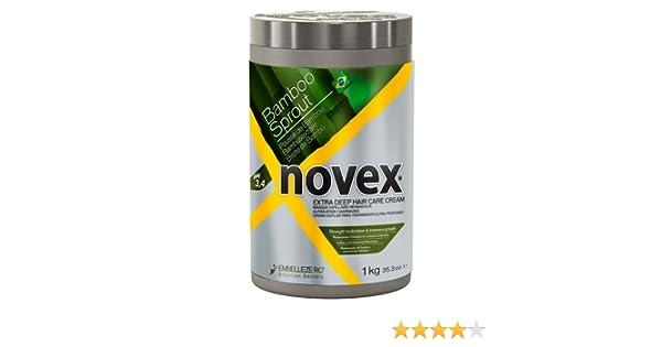 Embelleze Novex Bambú - Mascarilla Fuerza y Crecimiento Intenso - 1 kg