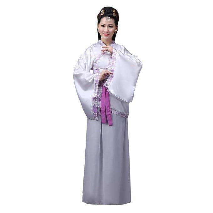 Hzjundasi Hanfu Vestido para Mujer - Antiguo Estilo Chino Traje Tang Princesa Chaise Vestido Traje de Rendimiento