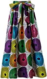 Shenbolen Women African Print Skirt Ankara Maxi Skirt Dashiki Skirt(One Size C)