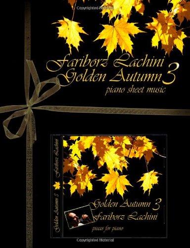 Golden Autumn 3 Piano Sheet Music: Original Solo Piano Pieces PDF