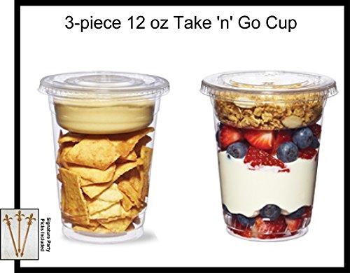 yogurt parfait plastic - 4