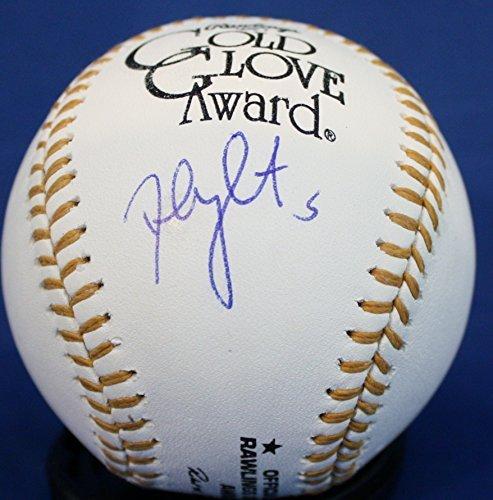 Autographed David Wright Gold Glove Baseball - JSA Authenticated ()