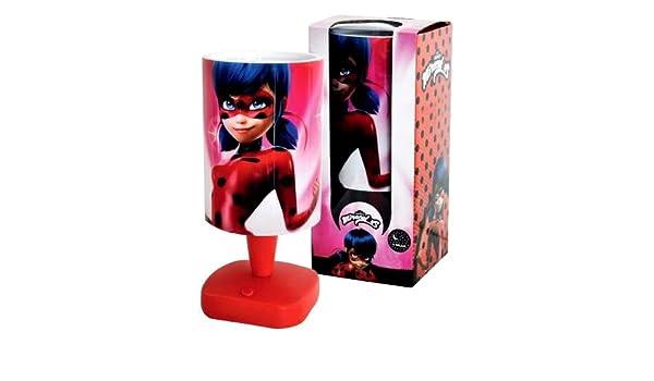 Lámpara proyector Bajour 3d Miraculous Ladybug Juegos Niña ...