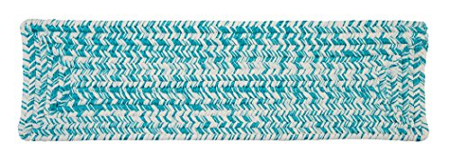 """Catalina CA19 Stair Tread, 8"""" by 28"""", Aquatic Turquoise"""
