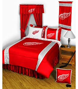 NHL Detroit Red Wings - 5pc BED IN A BAG - Queen Bedding Set