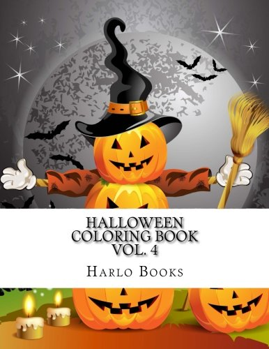Halloween Coloring Book: Halloween Coloring Fun for Relaxation, Meditation & Stress Relief (Halloween Fun Coloring Book) (Volume -