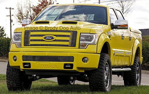 Fiberglass Ford Hood (Xtreme Autosport 2009,2010,2011,2012,2013,2014 Ford F150 Ram Air Power Hood 811482 Tonka Style)