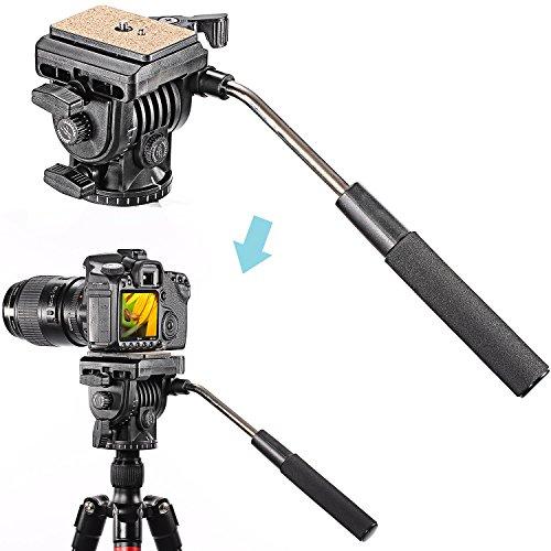 Neewer 10084954 - Rótula de Cámara Aluminio Flexible para Canon, Nikon, y Otras Cámaras Reflexivas Digitales con 1/4...
