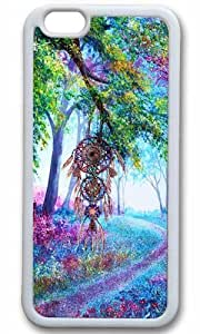 Dreamcatcher landscape Thanksgiving Halloween Masterpiece Limited Design TPU White Case for iphone 6 by Cases & Mousepads by icecream design
