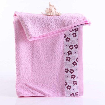 junchen Flores bambú fibra toallas alta calidad suave cómodo grandes Toalla para la cara Agua grabación de Quick Dry portador sueltas Toalla, ...