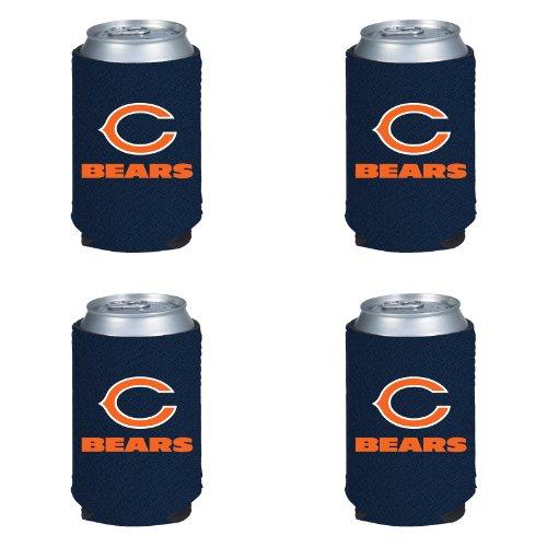 kolder-nfl-chicago-bears-can-koozie-4-pack