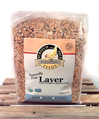 Organic Naturally Free Layer Chicken Feed Lbs