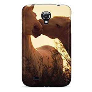 High-quality Durable Protection Case For Galaxy S4(horses In Love)