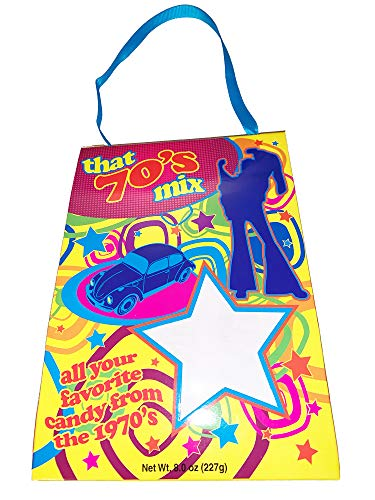(Crystal Temptations Nostalgia Candy Mix! 8 Oz Retro Bag Each! Assorted Vintage Candies! Choose From 60's, 70's, 80's or 90's! All Your Favorite Classic Candy!)