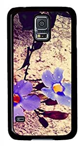 On Concrete Ii Black Hard Case Cover Skin For Samsung Galaxy S5 I9600