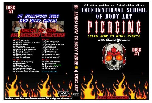 34 Learn How To Body Pierce Instructional Videos 1-11