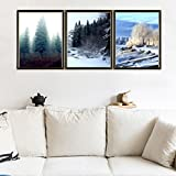 ac art - Woaills Hot Sale Canvas Painting,Living Room Wall Home Decoration Pictures (Multicolor AC)