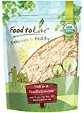 Food to Live Certified Organic Ginger Root Powder (Non-GMO, Bulk, Raw Ground Ginger Root, Flour) (4 oz)