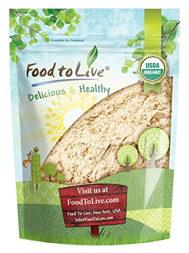 Food to Live Certified Organic Ginger Root Powder (Non-GMO, Kosher, Bulk, Raw Ground Ginger Root, Flour) (4 (Ginger Root Powder)