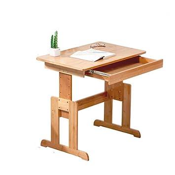 FMesa antigua y silla Mesa de estudio de escritorio de los niños ...