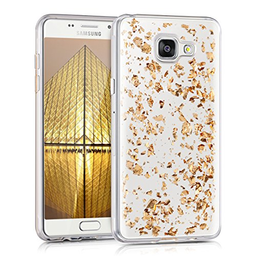 kwmobile-crystal-tpu-silicone-case-for-samsung-galaxy-a5-2016-in-pink-gold-transparent-design-flakes