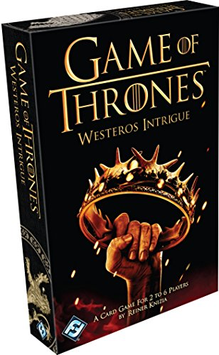HBO Game of Thrones: Westeros Intrigue (Intrigue Game)