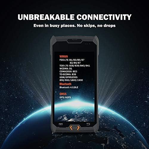 【Android 8.0】5,0 pouces 3G 4G PDA terminal avec /écran tactile Bluetooth et scanner de codes /à barres Honeywell pour 1D 2D PDF417 Port Micro SD//TF Max jusqu/à 32G
