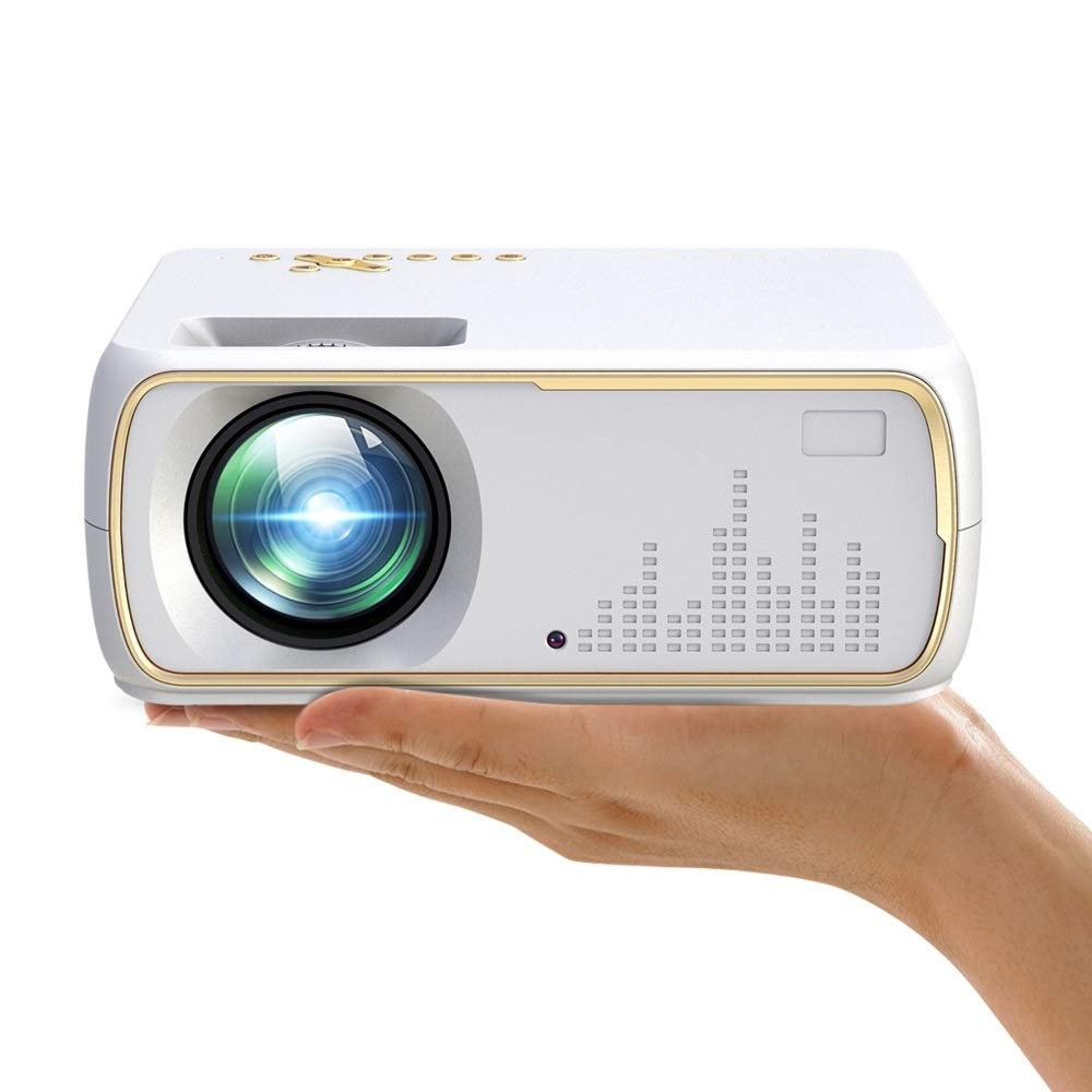 GoYisi Proyector LED, proyector Inteligente DH-A20 2200 Lumen 800 ...