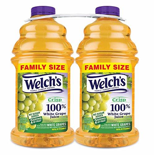 Welch's 100% White Grape Juice, 2 pk./96 oz.