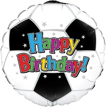 Amazon.com: Oaktree feliz cumpleaños fútbol 18
