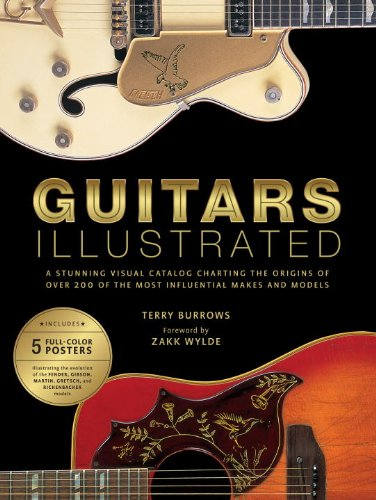 Guitars Illustrated: A Stunning Visual Catalog Charting the Origins of Over 250 of the Most Influential Makes and Models from Billboard Books