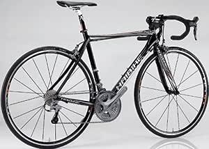 Haibike Hai Q Race RX - Bicicleta de carretera con cuadro alto, color negro y plateado: Amazon.es: Deportes y aire libre