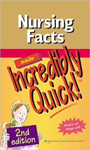 Nursing facts made incredibly quick incredibly easy series nursing facts made incredibly quick incredibly easy series second edition kindle edition fandeluxe Images