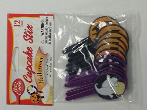 12 Count Halloween Cupcake Stix]()