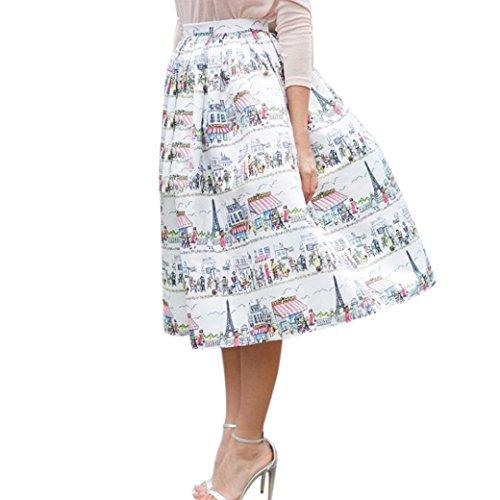 Line Art Floral Dress - 2