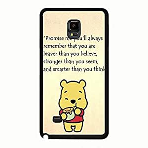 Winne Samsung Galaxy Note 4 Funda, Popular Winne The Pooh Samsung Galaxy Note 4 Funda