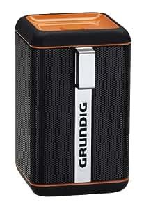 Grundig GSB 110 - Altavoz de estantería (Bluetooth, 3 W), naranja y negro