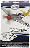 Testors P51 Mustang Quick Build Aircraft Model Kit (1:72 Scale)