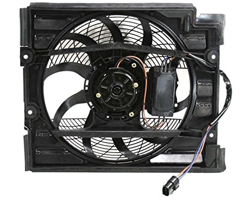 - A/C Condenser Fan Assembly - Cooling Direct For/Fit BM3113109 99-03 BMW 5-Series